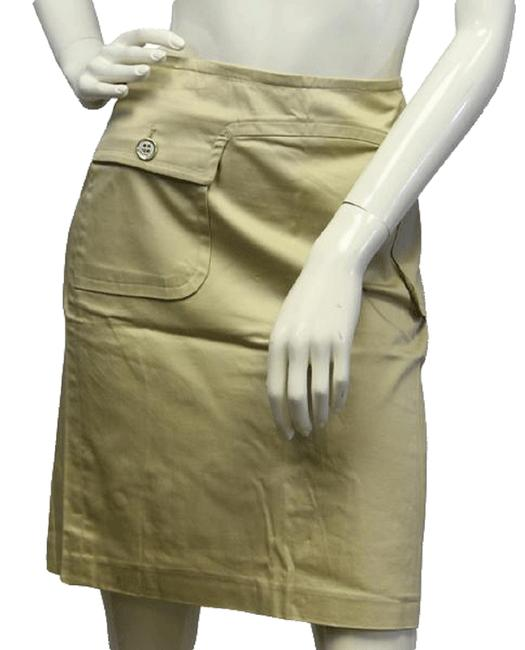 Item - Tan Please Refer To Product Photos. Skirt Size 8 (M, 29, 30)