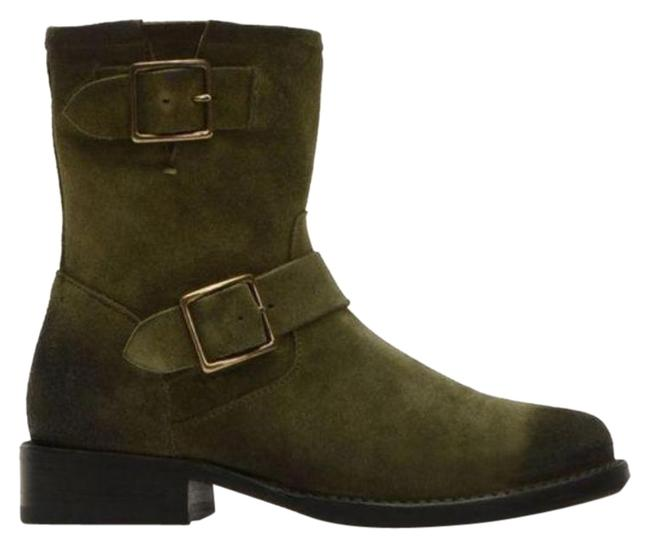 Item - Green Vicky Engineer Suede Boots/Booties Size US 7.5 Regular (M, B)