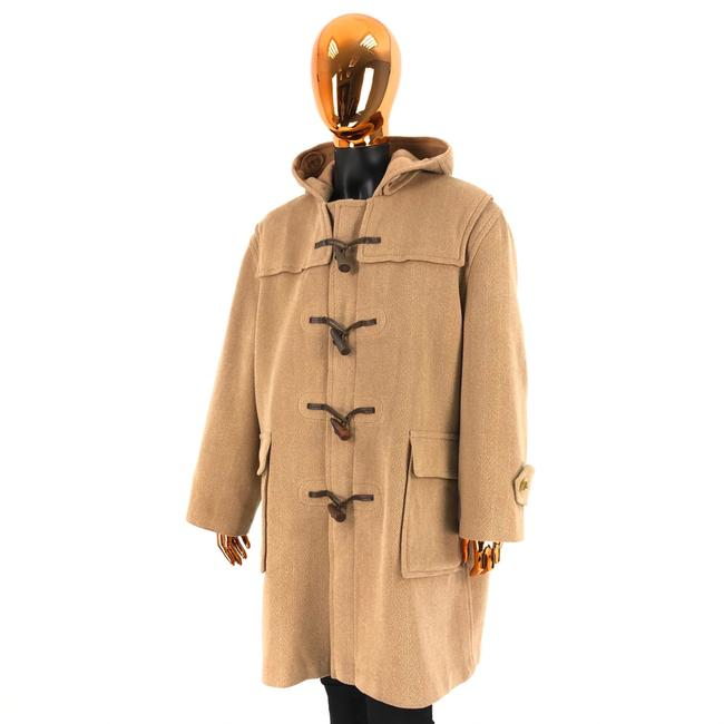 Item - Beige Duffle Womens Wool Coat Size OS