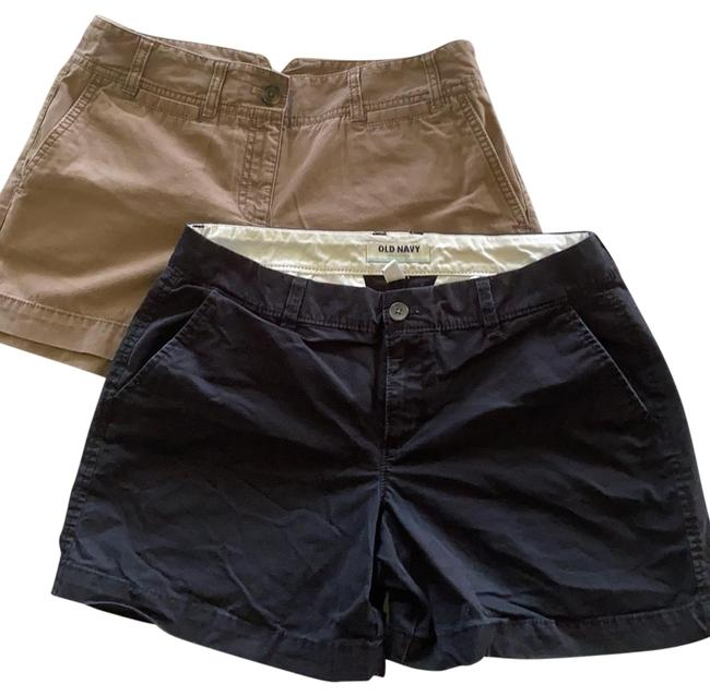 Item - Black and Brown Shorts Size 6 (S, 28)