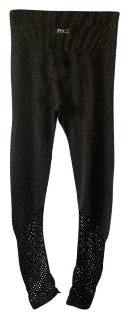 Item - Black Ultimate High Rise Perforated Activewear Bottoms Size 4 (S)