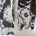 Tory Burch Black and White Floral Tunic Blouse Size 8 (M) Tory Burch Black and White Floral Tunic Blouse Size 8 (M) Image 3
