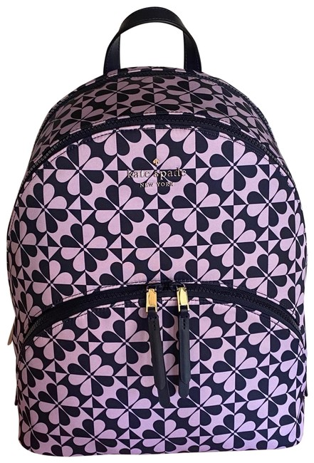 Item - Karissa Clover Geo Large Petrol Blue/Multi Nylon Backpack