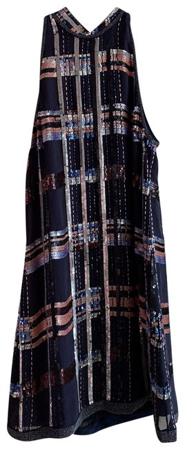 Item - Multicolor Night Short Cocktail Dress Size 10 (M)