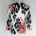 White House | Black Market Multicolor Fitted Cardigan Size 6 (S) White House | Black Market Multicolor Fitted Cardigan Size 6 (S) Image 4