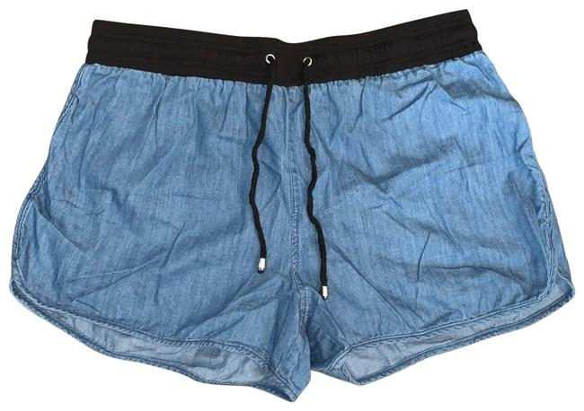 Item - Denim Draw-string Shorts Size 12 (L, 32, 33)