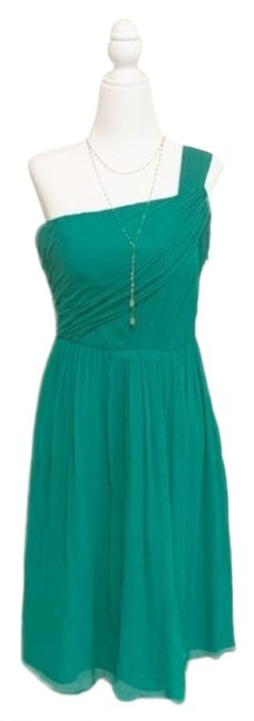 Item - Green Lucienne Silk Chiffon Formal Dress Size 10 (M)