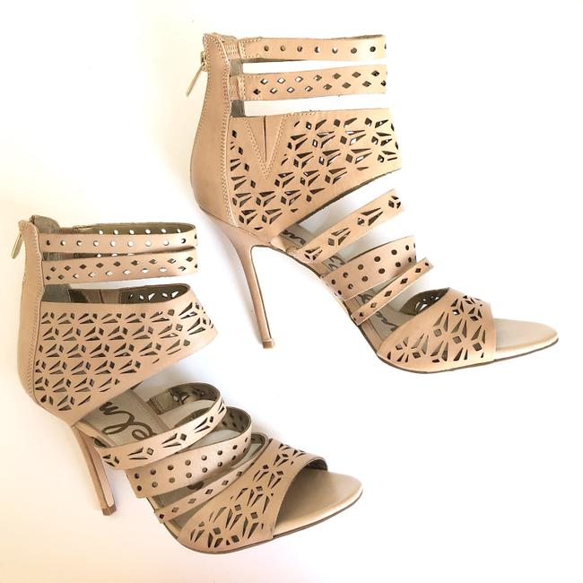 Item - Tan Alysia High Heels Open Toe Gladiator Booties Sandals Size US 9.5 Regular (M, B)