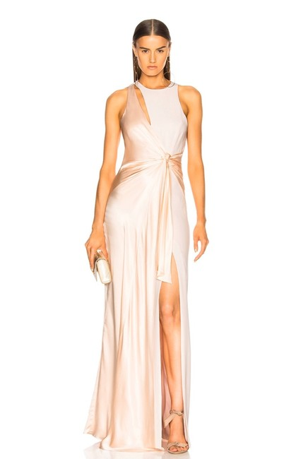 Cinq à Sept Blush / Pink Clemence Gown Long Formal Dress Size 2 (XS) Cinq à Sept Blush / Pink Clemence Gown Long Formal Dress Size 2 (XS) Image 1