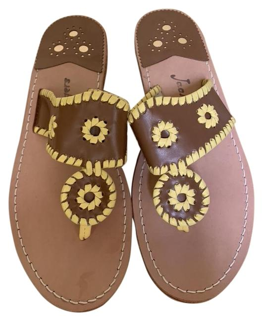 Jack Rogers Brown / Palm Beach Sandals Size US 9 Regular (M, B) Jack Rogers Brown / Palm Beach Sandals Size US 9 Regular (M, B) Image 1