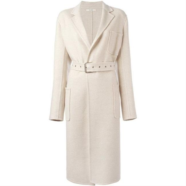 Item - Oatmeal Cashmere Belted Coat Size 6 (S)