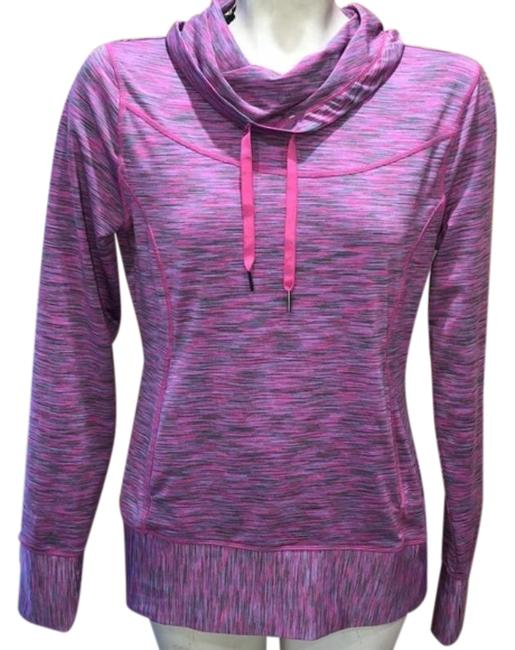 Item - Pink Cowl Neck Work Out Activewear Outerwear Size 4 (S)