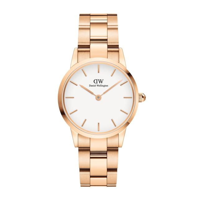 Item - Rose Gold White New Iconic Link Dial 28mm Watch