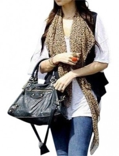 Preload https://item4.tradesy.com/images/all-around-fem-brown-leopard-print-chiffon-sheer-fast-shipping-scarfwrap-27713-0-0.jpg?width=440&height=440