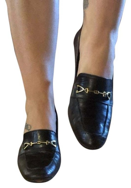 Item - Brown Leather Heeled Loafers Pumps Size EU 36 (Approx. US 6) Narrow (Aa, N)