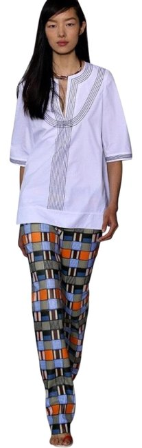 Item - Runway Collection Printed Straight Leg Jeans Size 0 (XS, 25)