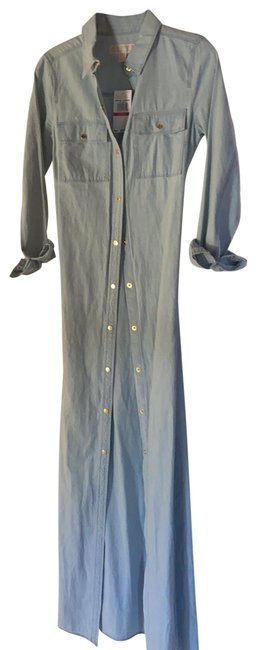Item - Light Denim Let Me Count The Ways I Can Wear This Long Casual Maxi Dress Size 2 (XS)
