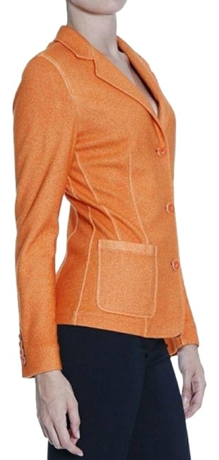 Item - Orange Lanificio Cashmere Silk Blazer Size 2 (XS)