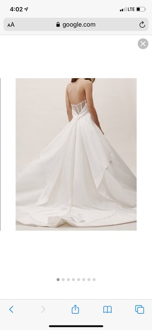 Item - Ivory Bhldn Carrington Gown Formal Wedding Dress Size 14 (L)