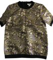 Marni For H&M Top black and gold with purple