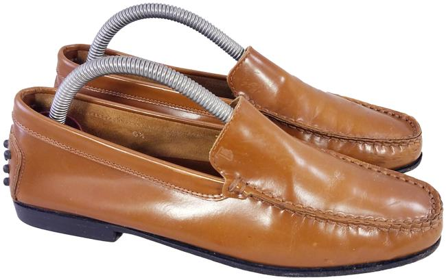 Item - Brown Woman Loafers Patent Leather 1/2 Flats Size US 6.5 Regular (M, B)