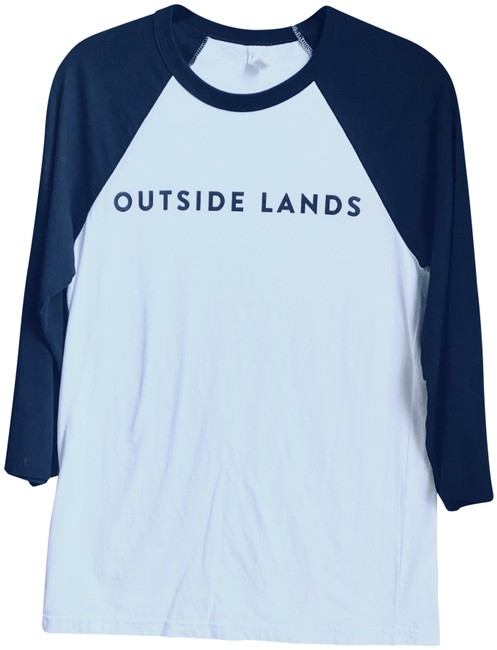 Item - Black and White Outside Lands Concert T Tee Shirt Size Petite 6 (S)