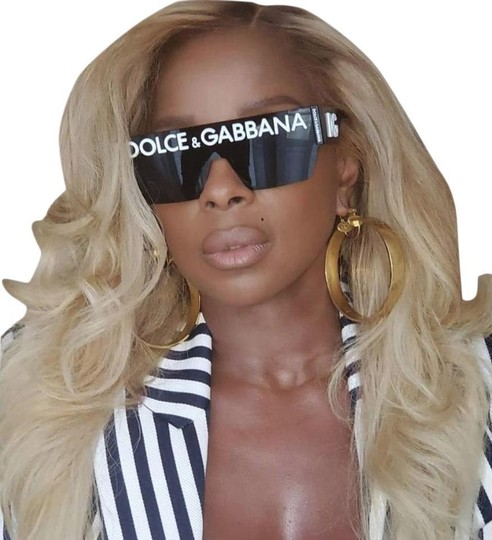 Preload https://img-static.tradesy.com/item/27721220/dolce-and-gabbana-black-white-dolce-and-gabbana-logo-dg-2233-0187-shield-sunglasses-0-3-540-540.jpg