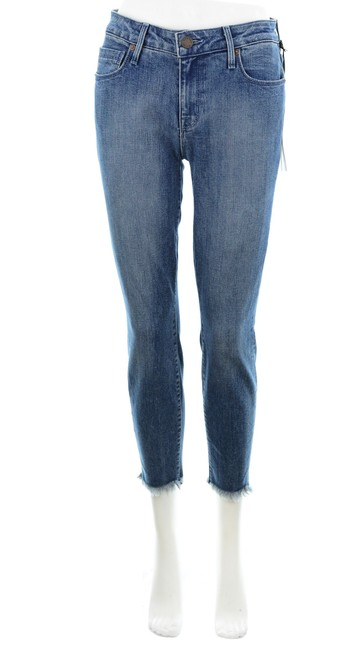 Parker Smith Blue Ava Crop Madeline New with Tags Skinny Jeans Size 26 (2, XS) Parker Smith Blue Ava Crop Madeline New with Tags Skinny Jeans Size 26 (2, XS) Image 1