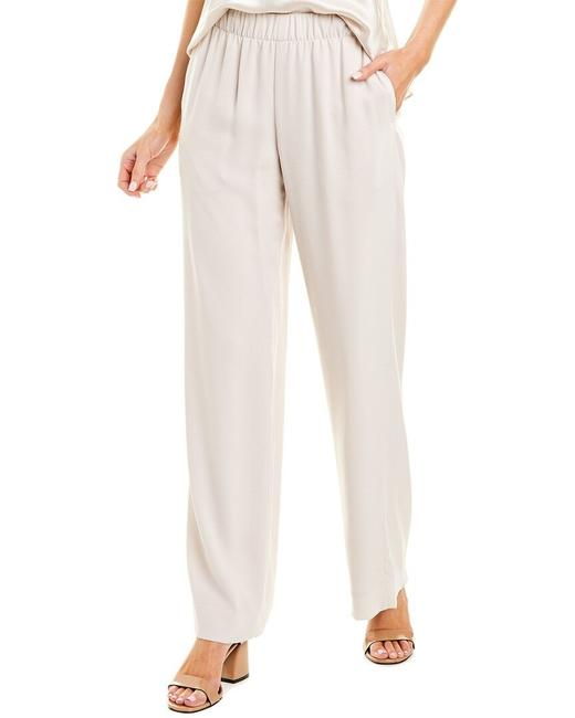 Item - Ivory Lucit Wide Leg Pull-on Crepe Pants Size 4 (S, 27)