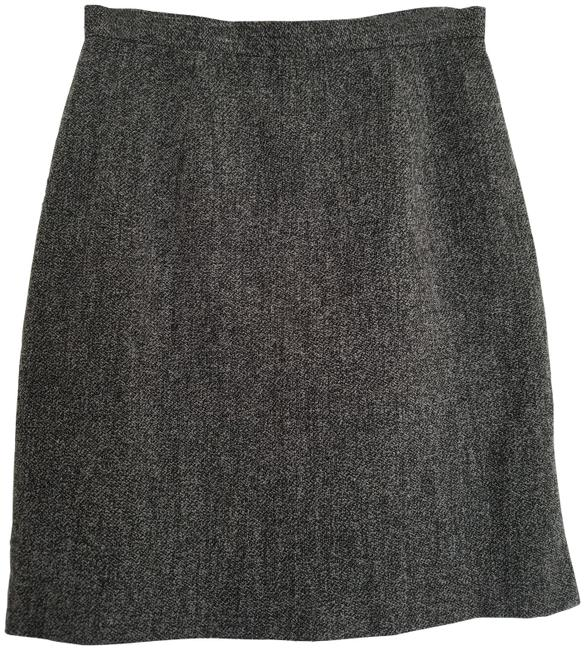 Item - Black and Gray Fine Boucle Skirt Size 8 (M, 29, 30)