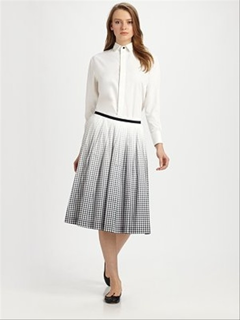 Boy. by Band of Outsiders Black White Skirt Size 8 (M, 29, 30) Boy. by Band of Outsiders Black White Skirt Size 8 (M, 29, 30) Image 2