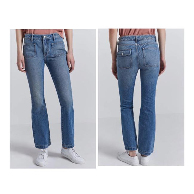 Item - Medium Washed  The Cropped Boot Jeans/Sz:25/Nwt Straight Leg Jeans Size 0 (XS, 25)