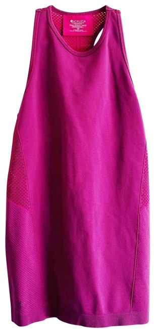 Item - Magenta XS Tank Compression Pink Red Activewear Top Size 0 (XS)