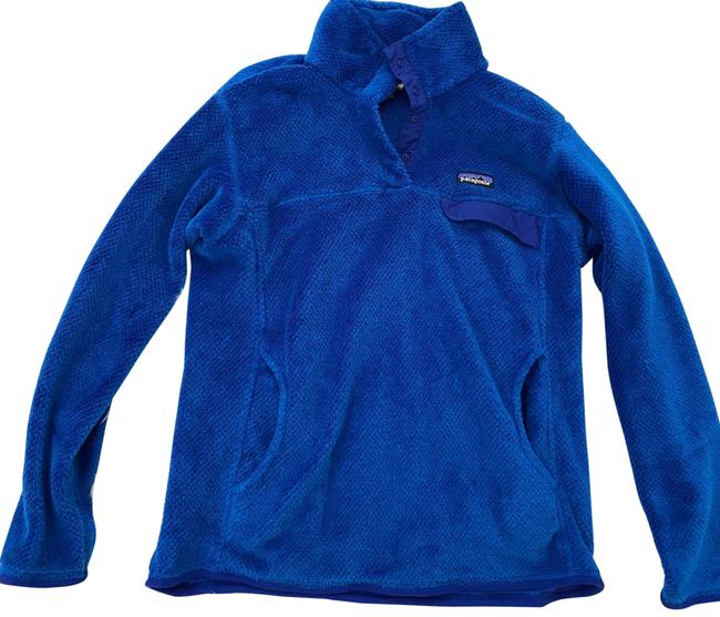 Item - Royal Blue Furry Pullover Coat Size 12 (L)