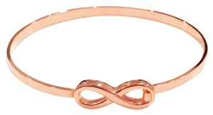 Other Mini Infinity Bangle 18k Rose Gold Plated