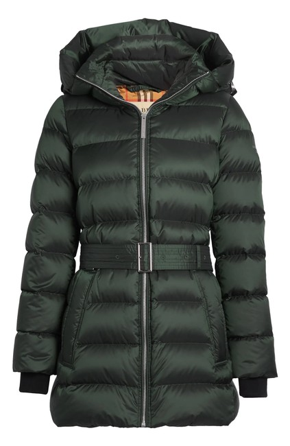 Item - Dark Racing Green Limehouse Quilted Down Puffer Coat Size 2 (XS)