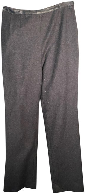 Item - Black Wool/Cashmere Blend Slacks Pants Size 4 (S, 27)