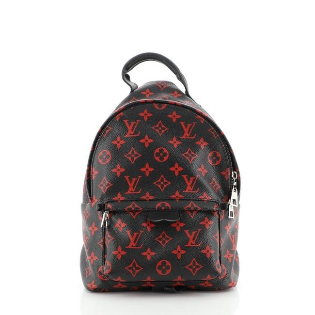 Item - Palm Springs Limited Edition Infrarouge Pm Multicolor R Black Red Monogram Can Backpack