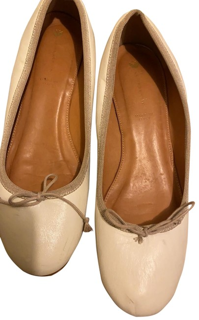 Item - Cream Wedges Size EU 38 (Approx. US 8) Regular (M, B)