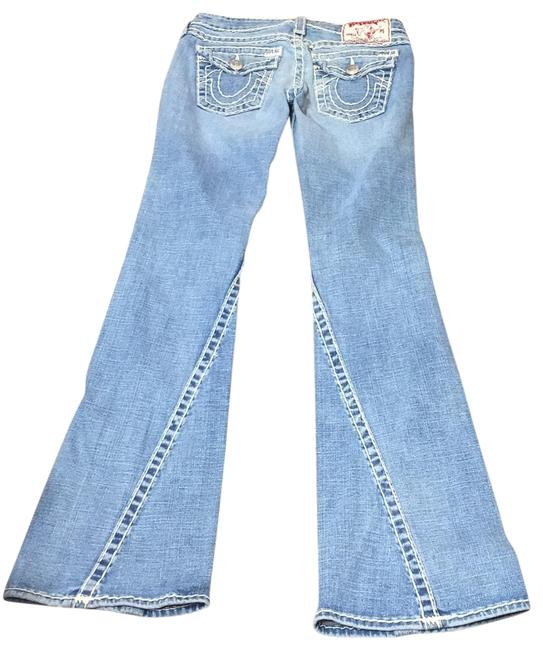 Item - Denim Medium Wash Boot Cut Jeans Size 6 (S, 28)