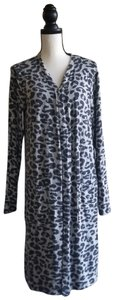 Time and Tru Animalprint Longsweater Dustersweater Opensweater Cardigan