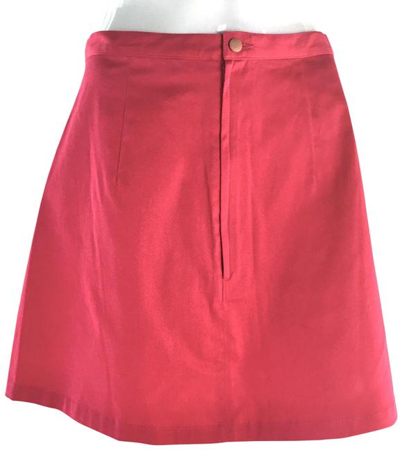 Item - Fuchsia Divided A-line Skirt Size 12 (L, 32, 33)