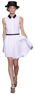 Boy. by Band of Outsiders short dress White Black on Tradesy