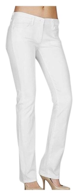 Item - White Light Wash Mid Rise Boot Cut Jeans Size 12 (L, 32, 33)