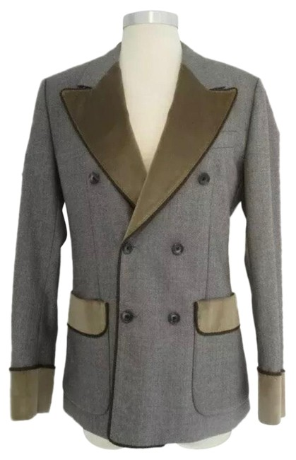 Item - Multicolor Men's Italy Dbl Breasted Blazer Size OS (one size)