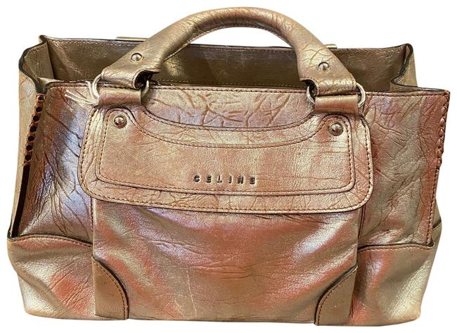Item - Boogie Gold Leather Satchel