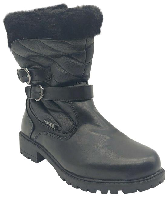 Black Women's Mid Calf Winter Boots/Booties Size US 9 Regular (M, B) Black Women's Mid Calf Winter Boots/Booties Size US 9 Regular (M, B) Image 1
