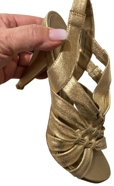 Kenneth Cole Gold Known By Heart Formal Shoes Size US 9 Regular (M, B) Kenneth Cole Gold Known By Heart Formal Shoes Size US 9 Regular (M, B) Image 1