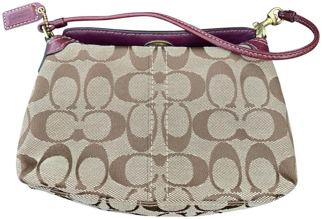 Coach Unknown Coated Canvas Wristlet Coach Unknown Coated Canvas Wristlet Image 1