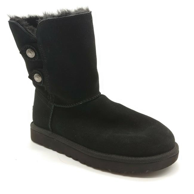 UGG Australia Black Women's Winter Pull On Ankle Boots/Booties Size US 7 Regular (M, B) UGG Australia Black Women's Winter Pull On Ankle Boots/Booties Size US 7 Regular (M, B) Image 1